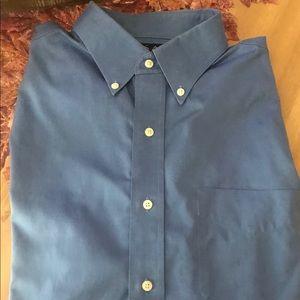 Jos. A. Bank blue dress shirt